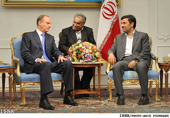 Ahmadinejad-with-Nikolai-Patrushev